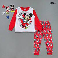 Пижама Mickey Mouse для мальчика. 130 см, фото 1
