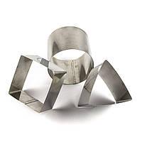 Набор форм для гарнира Геометрия 3 шт