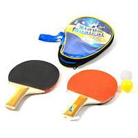 Набор настольного тенниса bt-pps-0054 7600 ракетки с мячом