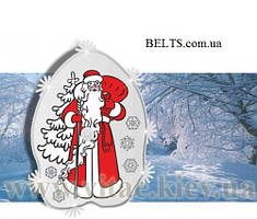 Соляная грелка «Дед Мороз», подарочная солевая грелка Дед Мороз, термокомпресс, saline phase-change material