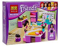 Детский конструктор Bela Friends 10133 Дизайн-студия Эммы 81 деталь
