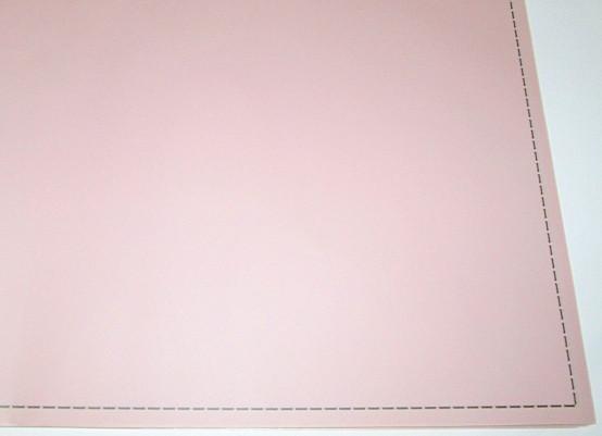 Пленка матовая Строчка 60*60 см, пудровая