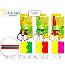 Ножницы  детские с фигурными лезв. 13,7см TUKZAR TZ-6923