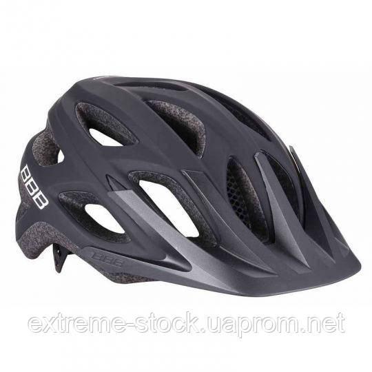 Велосипедный шлем BBB Varallo, BHE-67, чёрный матовый, 58-61.5 см