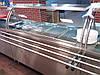 Мармит  вторых блюд с гнутым стеклом 1500/700/1400 мм (4 GN1/1)