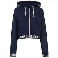 Толстовка SoulCal Crop Branded Navy - Оригинал