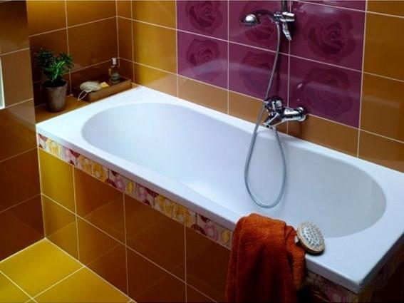 Акриловая ванна Cersanit Nike 1400х700х450
