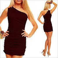 Коричневое облегающее платье, стильные платья