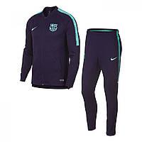 Спортивный костюм Nike FCB Sqd T Suit Sn83 Purple - Оригинал