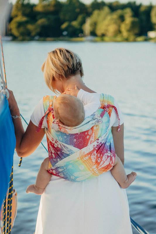 Май-слинг LENNYLAMB Wrap-Tai Carrier Mini Dragonfly Rainbow