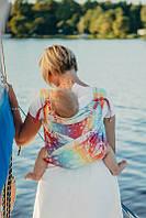 Май-слинг LENNYLAMB Wrap-Tai Carrier Mini Dragonfly Rainbow, фото 1