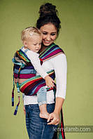Май-слинг LENNYLAMB Wrap-Tai Carrier Mini Carousel of Colors, фото 1