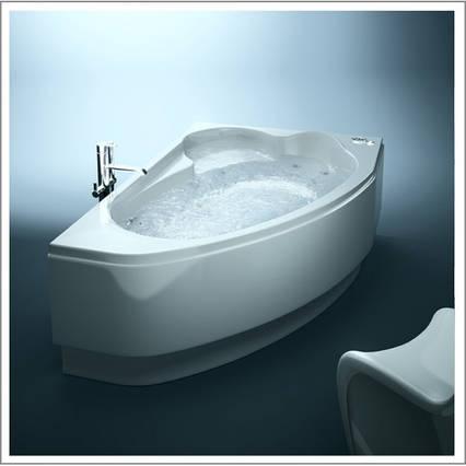 Акриловая ванна Cersanit Kaliope 1530x1000х450мм (Левая), фото 2