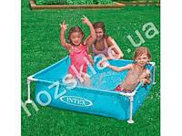 Бассейн Intex - 57173, каркасный детский, голубой