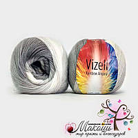 Пряжа для ручного вязания Рейнбов Rainbow Vizell, №01