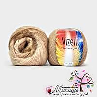 Пряжа для ручного вязания Рейнбов Rainbow Vizell, №02