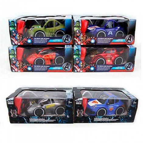 Машина ZR2043-2044 (36шт) р/у,17см,свет,рез.колеса,6видов(AV,BM,СМ),на бат-ке,в кор-ке