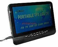Телевизор портативный 12-220В NS-901D. 9.5``, TV, FM, USB, SD-MMC, фото 1
