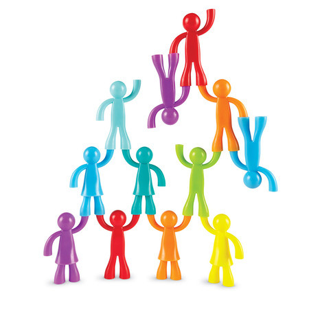 "Набор фигурок ""Спортивная семья"" (32 штуки) Learning Resources"