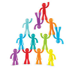 """Набір фігурок """"Спортивна сім'я"""" (32 штуки) від Learning Resources (LER 1081)"""