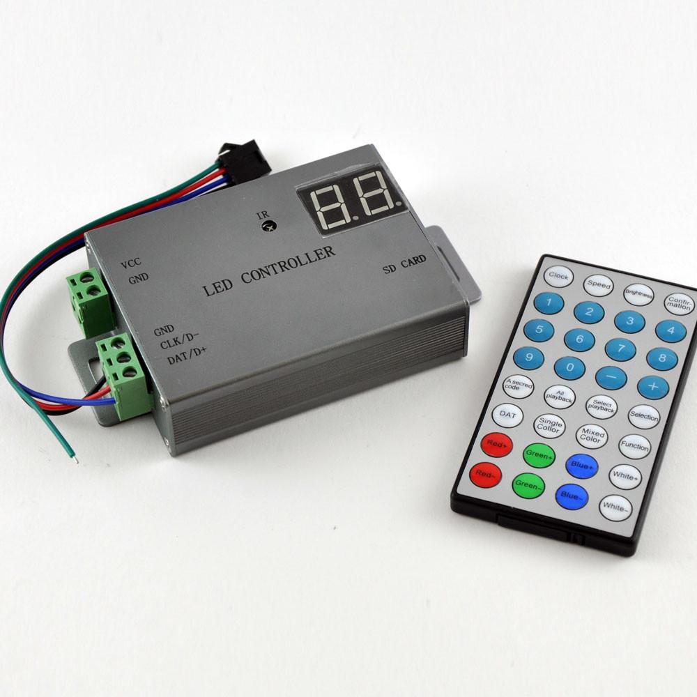 SMART LED контроллер YM-H805 SB c SD картой