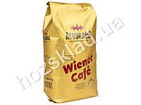 """Кофе натуральный зерновой Alvorada """"Wiener Cafe"""" 1000гр в брикете, Австрия"""