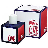 Мужская туалетная вода Lacoste Live Pour Homme новинка 2014