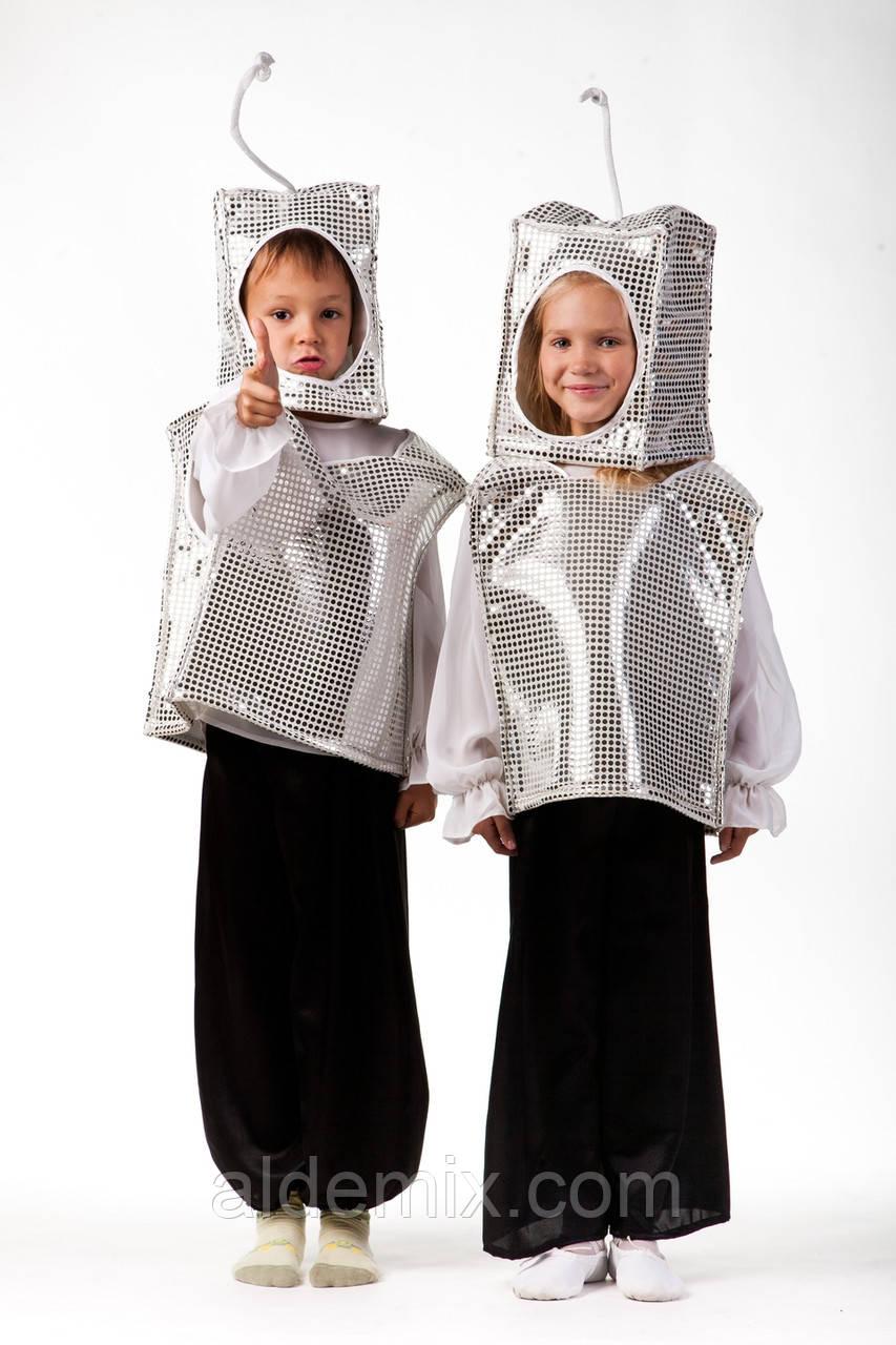 """Детский карнавальный костюм """"Робот"""""""