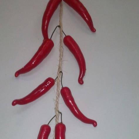 Искусственный перец Чили, вязка перца, фото 2