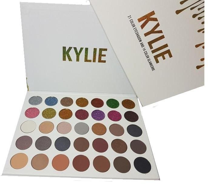 Палитра теней и глиттеров Kylie 35 цветов