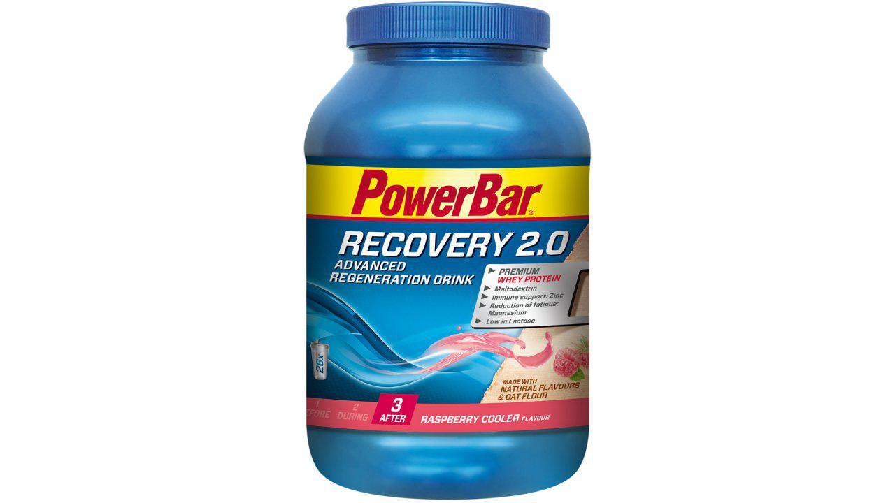 Восстанавливающий напиток PowerBar Recovery 2.0 1140г, малиновый
