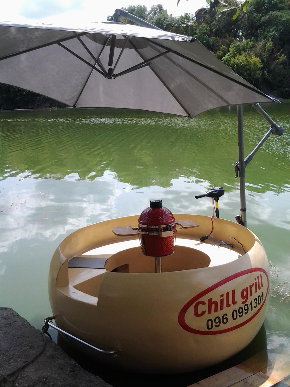 Лодка барбекю на 5 человек