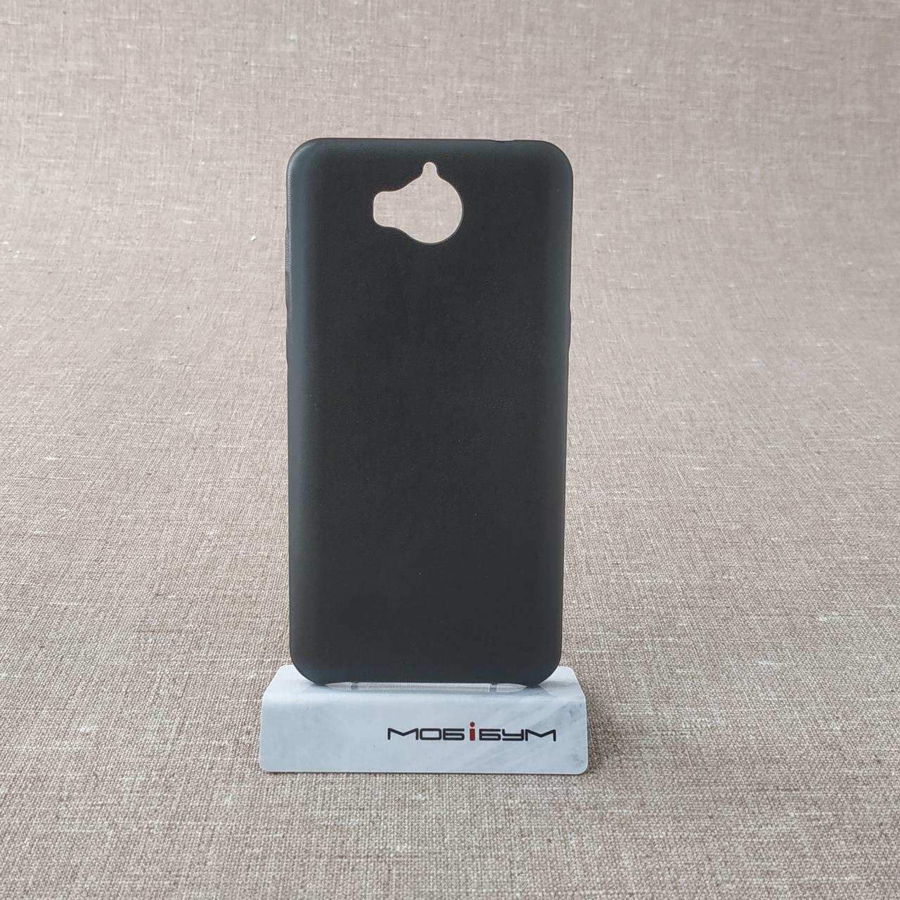 Чехол 2E PU Huawei Y5 2017 black Для телефона Черный (2017)