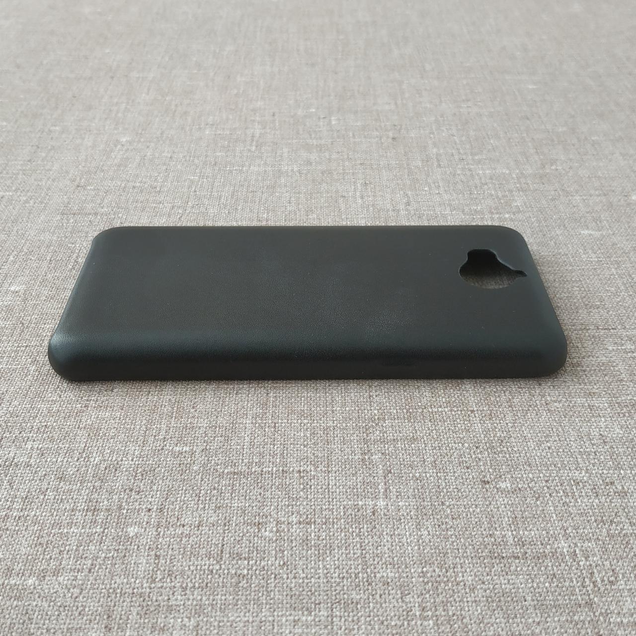 Чехлы для Huawei 2E PU Y5 2017 black Для телефона Черный