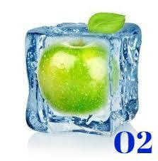Жидкость Ice green apple 100ml