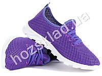Кроссовки женские/подростковые фиолетовые, литая подошва (37 размер, маломерят) РАСПРОДАЖА