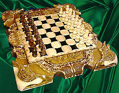 Шахматы - нарды - шашки эксклюзивные большие