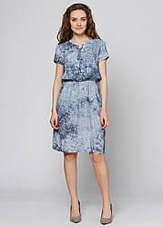 Платье женское летнее PL368 морская волна
