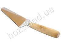 """Лопатка-нож для пиццы """"БАМБУК"""" 27см"""