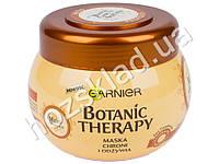 """Маска для волос Garnier Botanic Therapy """"Мед и прополис"""" для поврежденных и секущихся волос 300мл"""