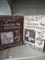Тетрадь A plus А5 твердый переплет 120л Discoveries
