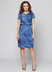 Платье женское летнее PL368 голубое