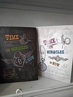 Тетрадь  А5 интегр. обложка 80л Time of miracl