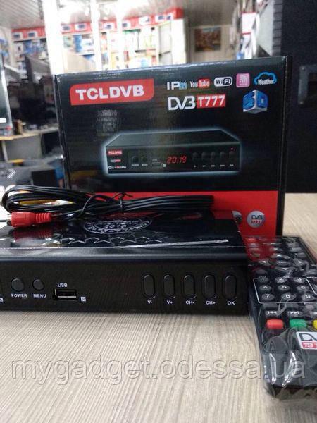 ТОП ЦІНА! Тюнер T2 TCL DVB 5D + YouTube/IPTV/Full HD
