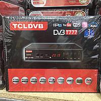 Цифровой ресивер T2 TCL DVB 5D Full HD/YouTube/IPTV
