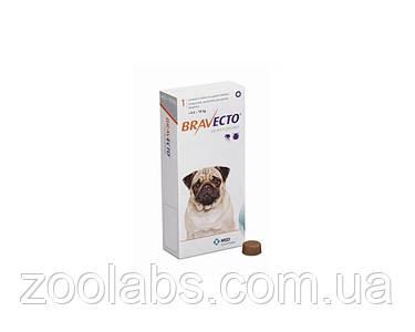 Бравекто Bravekto жевательная таблетка защита от клещей и блох для собак весом 4,5-10 кг