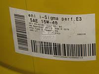 Масло моторное  ENI i-Sigma perfomance E3 15w-40  (Бочка 205л)