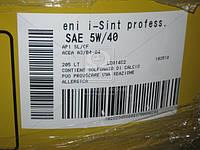 Масло моторное  ENI I-Sint professIonal 5W-40 (Бочка 205л)