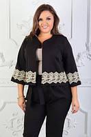 Костюм брючный с пиджаком, 50-60 размер, фото 1
