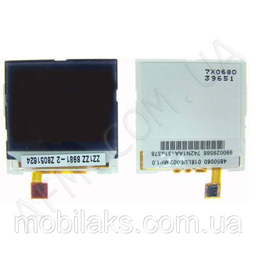 Дисплей (LCD) Nokia 1600/  1208/  1209/  2310/  2126CDMA/  /  (6125/  6136/  N71) внешний